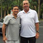Carlos Omaki e Ivan Lendl