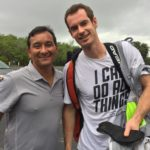 Carlos Omaki e Andy Murray