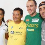 Carlos Omaki, Bruno Soares, Teliana Pereira e Fernando Meligeni
