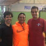Carlos Omaki e Luiz Mattar