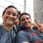 Carlos Omaki e Marcos Daniel