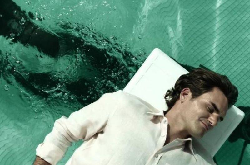 Omaki Tenis Competitivo- Federer Dormindo